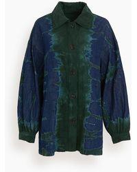 Raquel Allegra Tie Dye Explorer Jacket - Multicolour