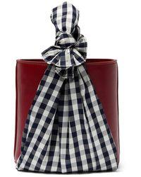 Lizzie Fortunato Florent Bucket Bag - Red