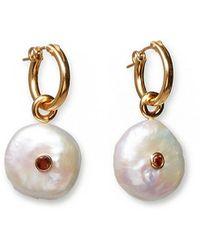 Lizzie Fortunato Pietra Earrings - Metallic