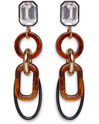 Lizzie Fortunato Amber Fort Earrings - Multicolour