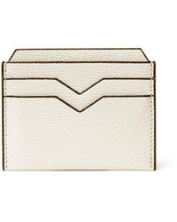 Valextra Card Case - Natural