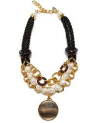 Lizzie Fortunato Gibraltar Necklace - Metallic