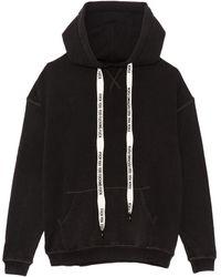 R13 Oversized Hoodie - Black