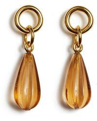 Lizzie Fortunato Desert Teardrop Earrings - Metallic