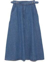 Rachel Comey Roam Skirt - Blue
