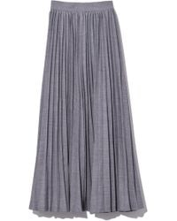 Co. - Pleated Skirt In Grey Ts - Lyst