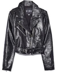 VEDA Vinyl Baby Jane Jacket - Multicolor