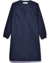 La Robe - Chelsea Poplin Dress In Dusk - Lyst