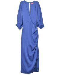 Manning Cartell Making Waves Dress In Indigo - Blue