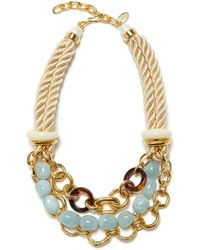 Lizzie Fortunato Marbella Necklace - Metallic