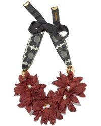 Lizzie Fortunato - Samburu Floral Collar - Lyst