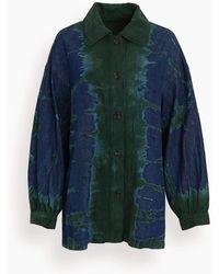 Raquel Allegra Tie Dye Explorer Jacket - Multicolor