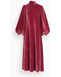 No Pise La Grama La Riviera Dress - Red