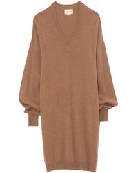 Loulou Studio Gambier Jumper Dress - Brown