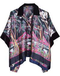 Sacai Sun Surf/diamond Head Shirt - Multicolor