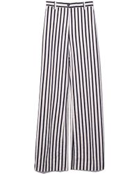 Aspesi | Stripe Cotton Pant In Natural | Lyst