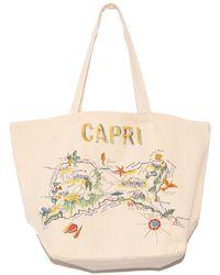 """Vanessa Bruno """"capri"""" Tote Bag - Multicolour"""