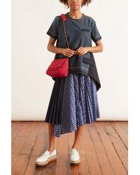 Sacai Denim Suiting Pullover - Blue