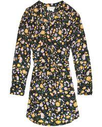 Apiece Apart Uyuni Mini Dress - Multicolor