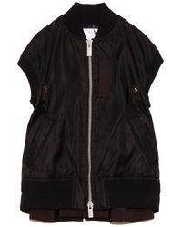 Sacai Ma-1 Vest - Black
