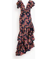 No Pise La Grama La Catalina Dress - Blue