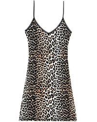 Ganni - Rayon Slip Dress - Lyst