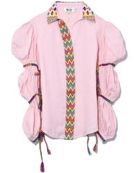 All Things Mochi - Lillian Top In Baby Pink - Lyst