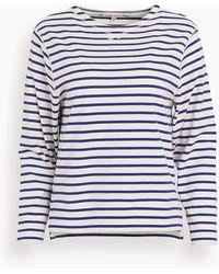 Alex Mill Lakeside Stripe Tee - Blue