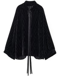 Nili Lotan - Elianna Top In Black - Lyst