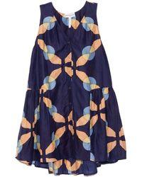 Apiece Apart Rosarito Mini Dress - Blue