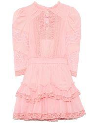 LoveShackFancy Isidore Dress - Pink