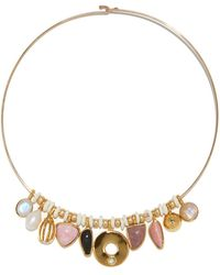 Lizzie Fortunato - Rose Best Lady Necklace - Lyst