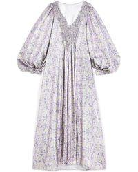Stella McCartney Floral Dress - Blue