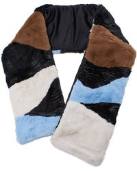 Lizzie Fortunato Fur Stole - Multicolour