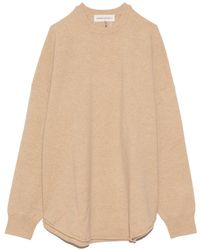 Extreme Cashmere Crew Hop Sweater - Natural