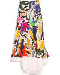 Marni Godet Skirt - Multicolour