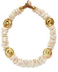 Lizzie Fortunato Aphrodite Collar - Metallic