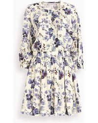 Apiece Apart Mona Mini Dress - Blue