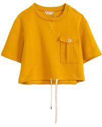 Marni Cotton Sweatshirt - Yellow