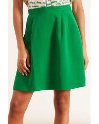 Dice Kayek Mini Skirt - Green