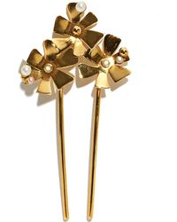 Lizzie Fortunato - Bouquet Hair Stick - Lyst