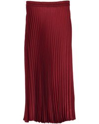 Xirena Sienna Skirt In Rosewood - Red