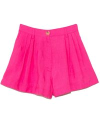 Forte Forte Viscose Cupro Fluid Short - Pink