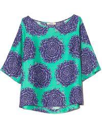 ODEEH Half Sleeve Shirt - Blue