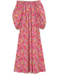 BERNADETTE Bobby Cotton Poplin Dress - Pink