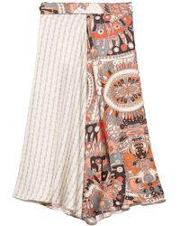 La Prestic Ouiston Parapluie Skirt - Multicolor