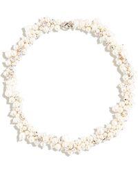 Mignonne Gavigan Isadora Pearl Collar - White
