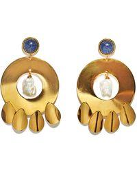 Lizzie Fortunato - Golden Hour Earrings - Lyst