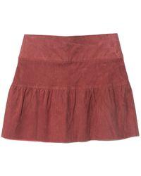 SPRWMN Skate Skirt - Red