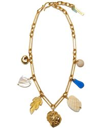 Lizzie Fortunato - Paradise Charm Necklace - Lyst